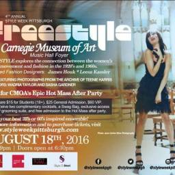 4th Annual Style Week Pittsburgh- FREESTYLE Event